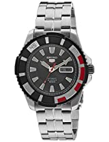 Seiko 5 Sports Analog Black Dial Men's Watch - SRP207K1