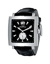 Luxury Men's Wristwatch Black Dial Swiss Quartz Movement 3 ATM