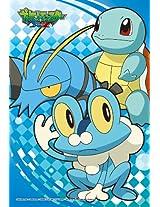 Ensky Pokemon Xy Squirtle Froakie Clauncher Jigsaw Puzzle (150 Piece), Mini