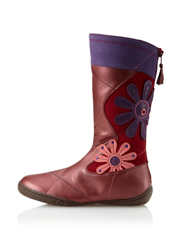 umi Kid's Radiant Boot (Toddler/Little Kid) (Deep Red)