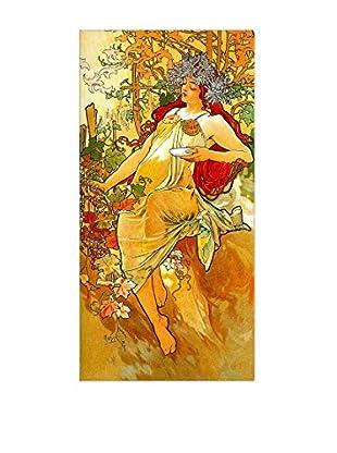 ArtopWeb Panel de Madera Mucha Autumn