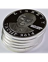 Donald Trump Silver Liberty Presidential 2016 Coin Pack Of 6