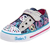 Skechers Girls Shuffles Jazzy Girl Low-Top
