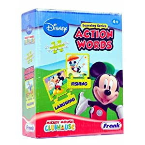 Frank - Puzzle - Mickey Mouse Club House - Action Words