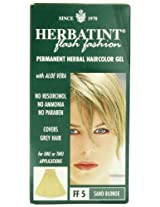 Bioforce Herbatint Flash Fashion Hair Color, Sand Blonde, 4 Fluid Ounce