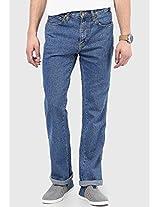 Blue Regular Fit Jeans (Texas) Wrangler