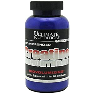 Ultimate Nutrition 100% Creatine Monohydrate - 300 gms