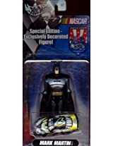 Special Edition - Exclusively Decorated Figure! Batman action figure with Mark Martin Taurus Race Car