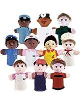 Get Ready Kids Community Helper Career Puppet Set Of 10