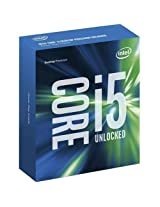 Intel BX80662I56600K Core i5-6600K Skylake Processor 3.5GHz 8.0GT/s 6MB LGA 1151 CPU