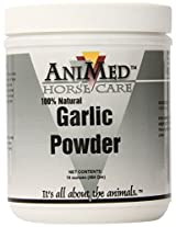 AniMed Garlic Powder Pure for Horses, 16-Ounce