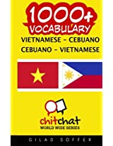 1000+ Vietnamese-Cebuano Cebuano-Vietnamese Vocabulary