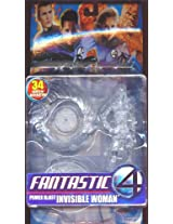 Fantastic 4 Power Blast Invisible Woman Action Figure Clear Variant