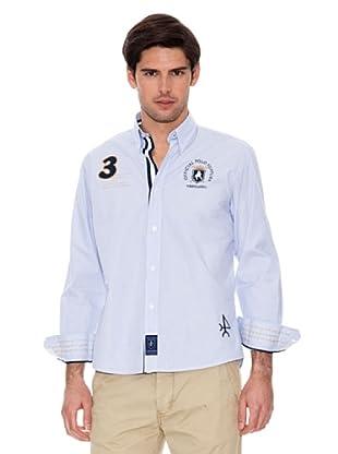 Valecuatro Camisa Parche (Azul Celeste)