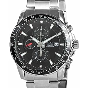 Alba AF8Q53X1 Men's Watch (From the House of Seiko)