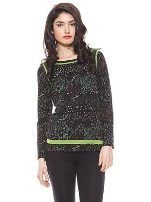 La Casita de Wendy Camiseta Lazos (negro)