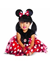 Disguise My First Disney Red Minnie Costume Black/Red/White 12-18 Months