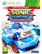 Sonic & and All Stars Racing Transformed (SEGA Xbox 360 Game PAL)