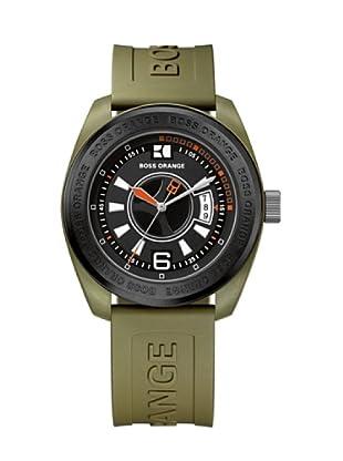 Hugo Boss 1512544 - Reloj de caballero de cuarzo, correa de plástico color verde