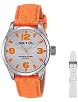 Nautica Sports Analog Silver Dial Men's Watch - NTCA11627M