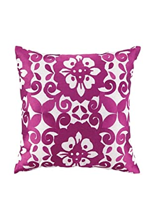 Jennifer Paganelli Cassandra Embellished Down Pillow, Pink, 20