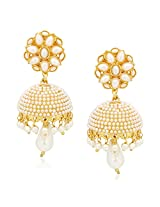 Jhumka Earrings For Women Girls in traditional Ethnic Pearl Earings By Meenaz J130