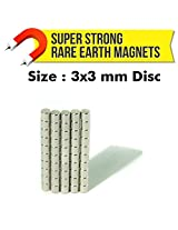 MFM Toys Neodymium Magnets (NdFeB) 3x3mm Disc - 100 Pcs.