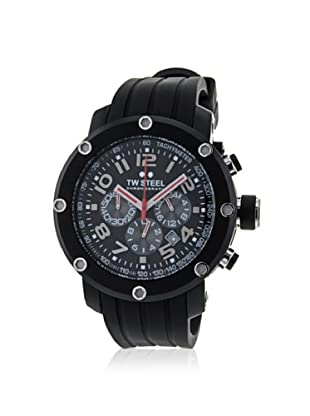 TW Steel Men's TW134 Grandeur Black Rubber Watch
