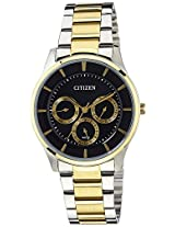 Citizen Analog Black Dial Men's Watch - AG8354-53E