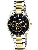 Citizen Analog Black Dial Men's Watch - AG8354-53E