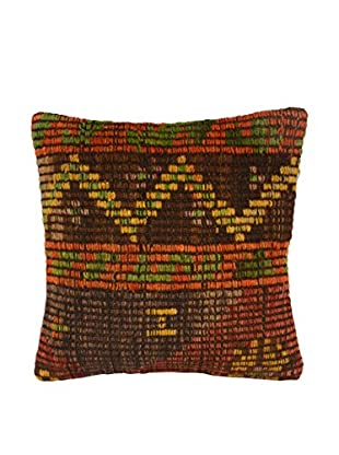 Uptown Down Vintage Kilim Pillow, Multi