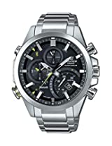 Casio Edifice Bluetooth Chronograph Black Dial Men's Watch - EQB-500D-1ADR (EX209)