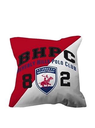 Beverly Hills Polo Club Cojín con Relleno Ref 5 (Blanco / Rojo / Azul)