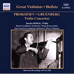 Violin Concertos: Great Violinists Heifetz