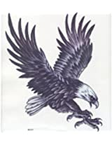 GGSELL GGSELL EXTRA LARGE Size: 7.87 x 8.66 Inches waterproof fashionable and cool flying eagle temporary tattoos for man to decorate their half back
