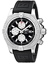 Breitling Men's BTA1337111-BC29BKPD3 Super Avenger II Analog Display Swiss Automatic Black Watch