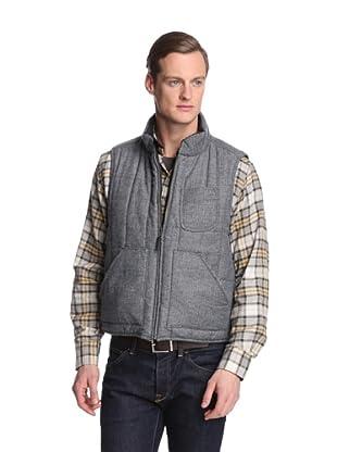 Façonnable Tailored Denim Men's Reversible Vest (Smoke)
