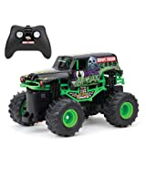 New Bright F/F 4x4 Monster Jam Mini Grave Digger RC Car (1:43 Scale)