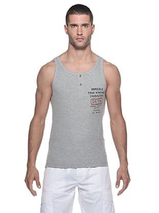Datch Camiseta Tirantes Botones (Gris)