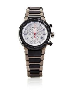 Ferragamo Men's F54MCQ78901 S789 F-80 Chronograph Tachymeter Titanium Watch