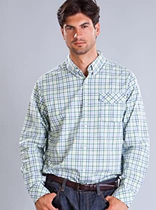 Timberland Camisa Cuadros (Verde / Azul)