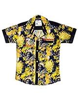 British Terminal Yellow kids shirt
