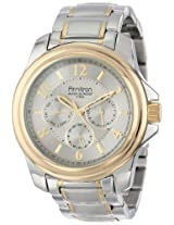 Armitron Men's 20/4924SVTT Multi-Function Stainless Steel Two-Tone Bracelet Watch
