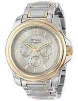 Armitron Men's 20/4924SVTT Multi-Function Stainless Steel Two-Tone Bracelet Watch