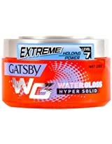 Gatsby Water Gloss Hyper Solid, Red, 300g