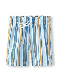 Azul Swimwear Boy's Down the Lane Boardshorts (Light Blue)