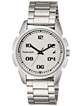 Fastrack Casual Analog Silver Dial Men's Watch - 3124SM01