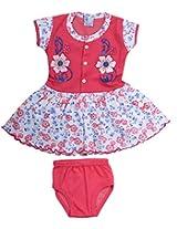 Tavara Girls' Clothing Set (TAKG0036-A, Pink, 1-2 Years)