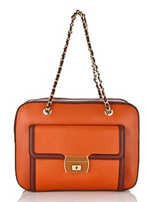 Love Moschino Köfferchen orange/braun