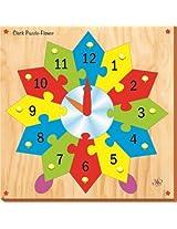 Kinder Creative Clock Puzzle Flower